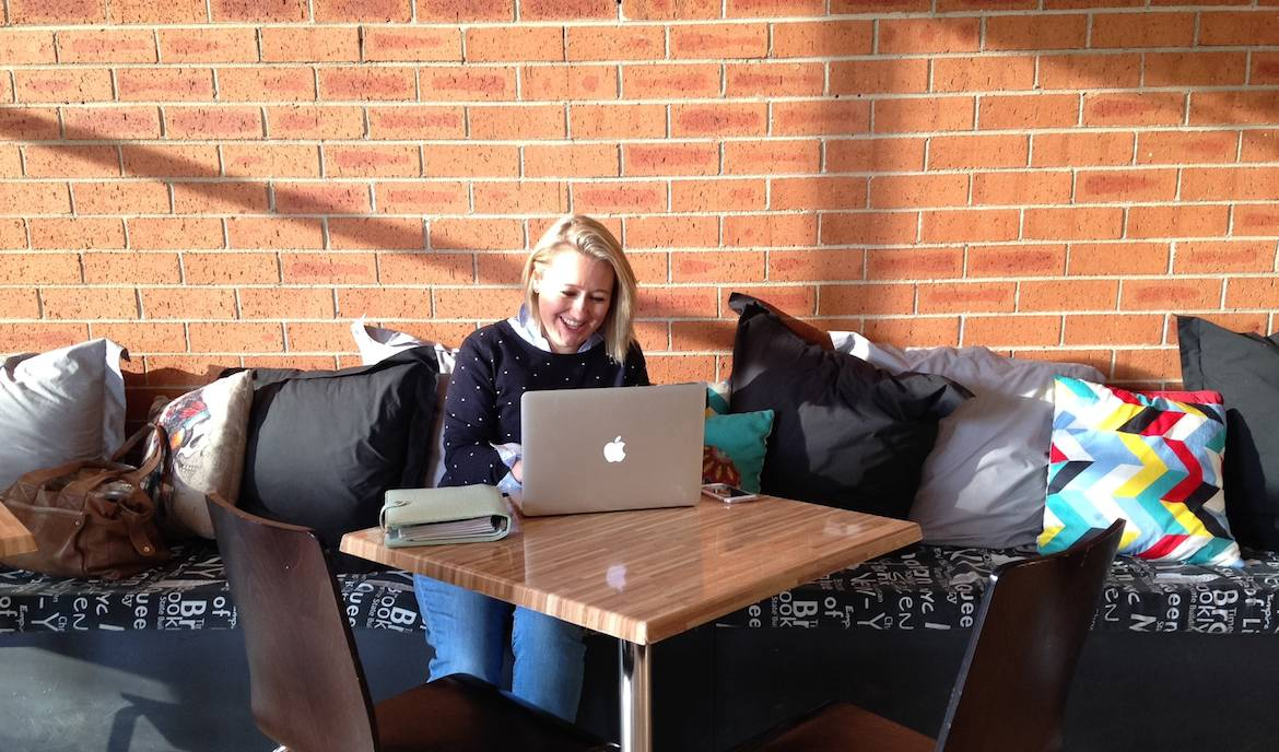 Working remotely at Fahrenheit, East Gosford
