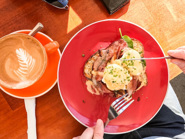 Coast Cafe breakfast