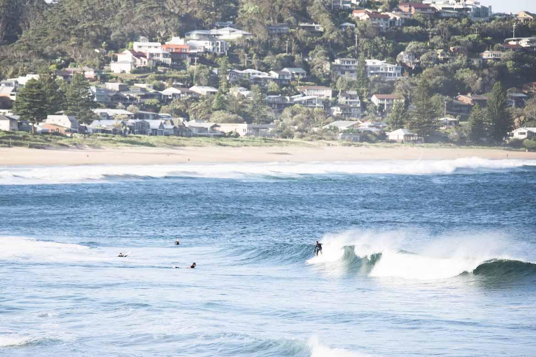 Avoca Beach from Avoca Surf House. Photo: Lisa Haymes