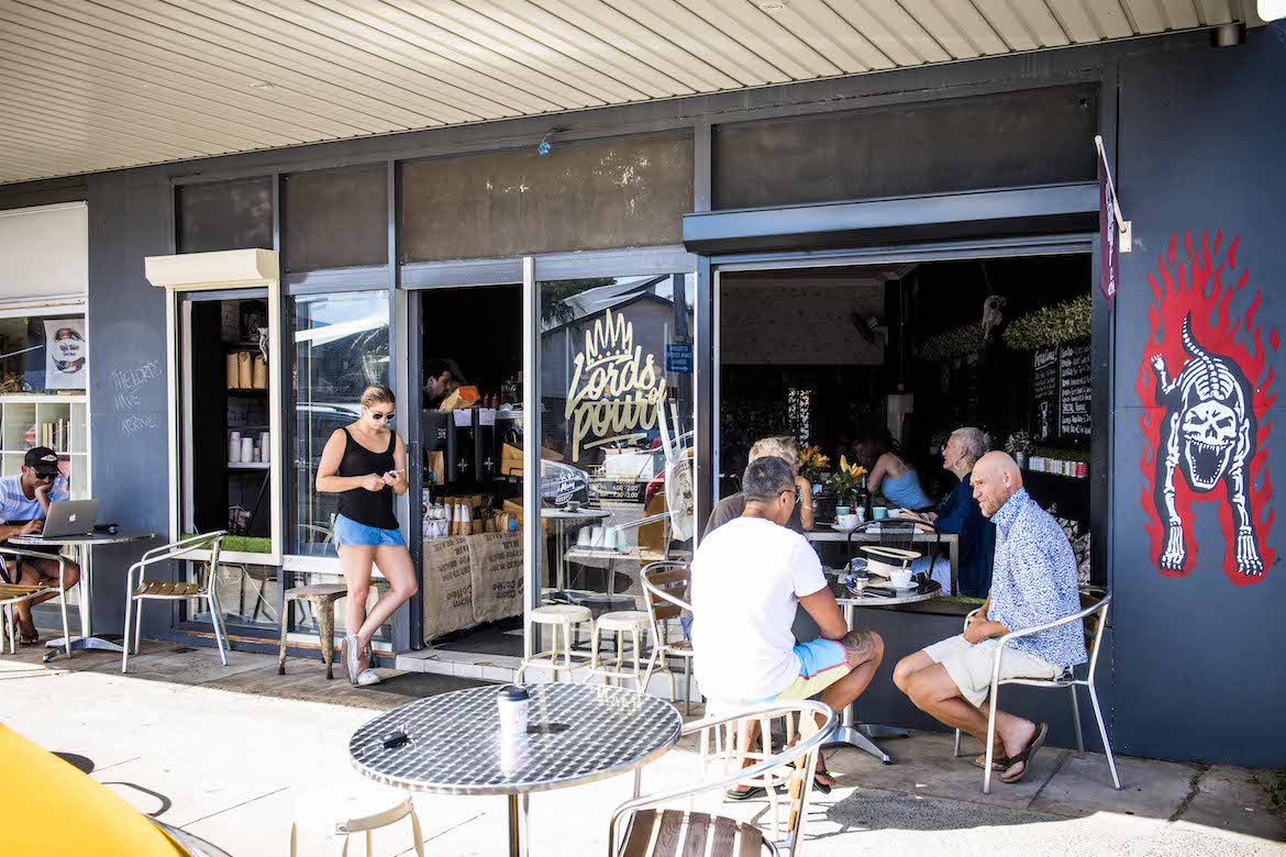 Lords of Pour at Ettalong. Photo: Lisa Haymes