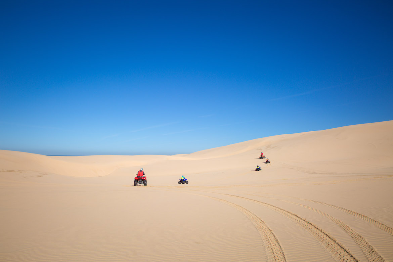 Stockton Beach sand dunes. Photo: Travel With Meraki