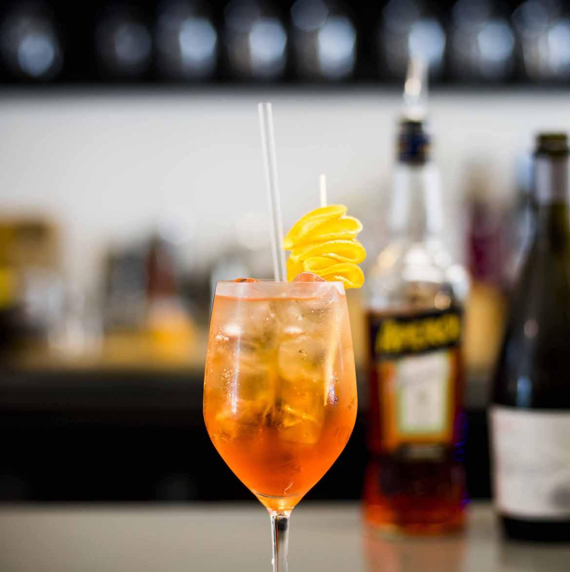Cocktail at Young Barons. Photo: Lisa Haymes
