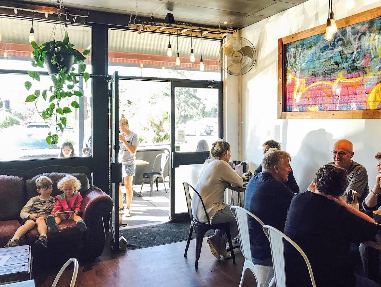 Glee Coffee Roasters at Erina. Photo: Lisa Haymes