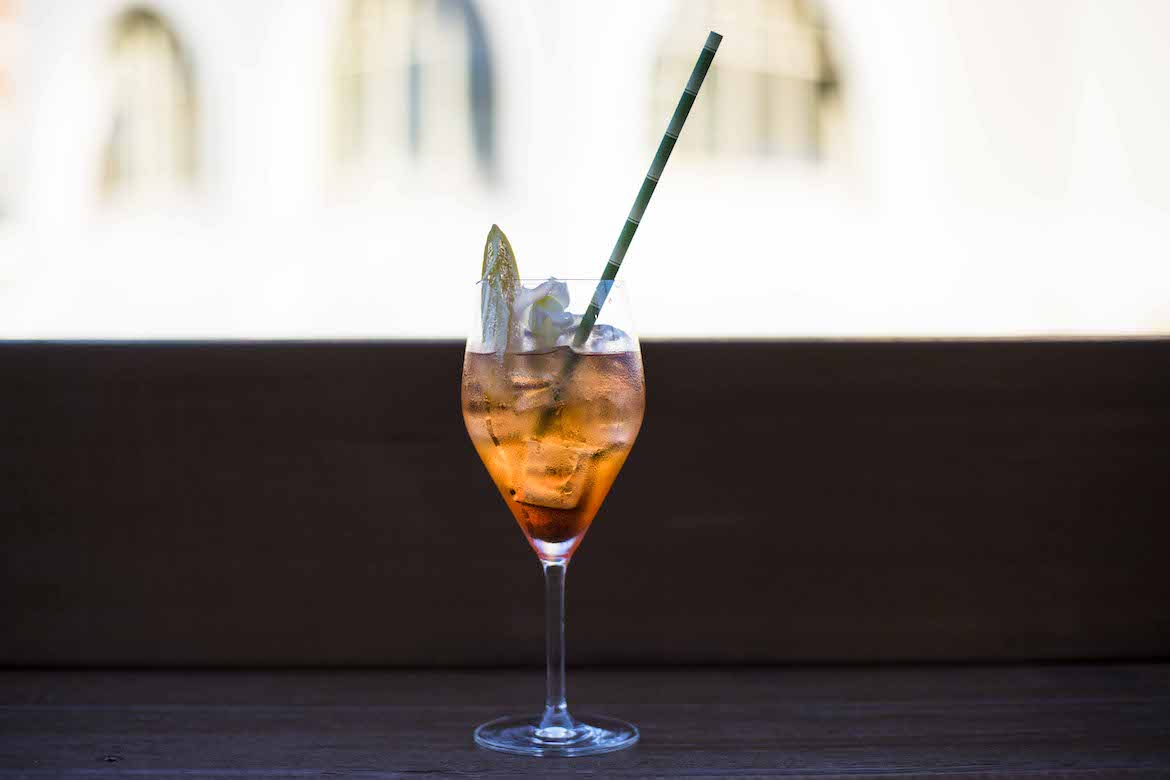 Aperol spritz at Rhonda's Bar, Terrigal. Photo: Lisa Haymes